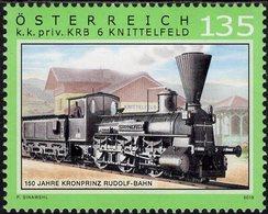 Austria - 2018 - 150 Years Of Crown Prince Rudolf Railway - Mint Stamp - 1945-.... 2. Republik