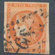 N°48 ORANGE VIF BORDEAUX VARIETE - 1870 Bordeaux Printing