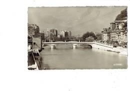 Cpm 38 - GRENOBLE - Les Quais Pont Marius Gontard -  Panneau Mouvement Libération Nationale - Grenoble