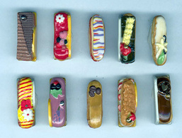 Gourmandises Eclairs  13 - Fèves