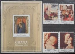 Ghana 1991 Christmas Noël ** MNH - Ghana (1957-...)