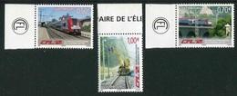 """Timbres** De 2006 Du LUXEMBOURG """"50 Ans Electrification Des Chemins De Fer"""" - Luxembourg"""