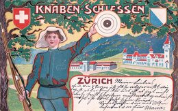 Zürich, Knaben-Schiessen, Litho (21.9.1903) - ZH Zurich