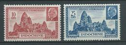 INDOCHINE 1941 . N°s 222 Et 223 . Neufs * (MH) - Indochine (1889-1945)
