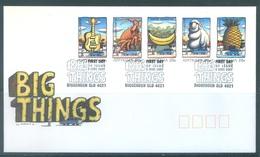 AUSTRALIA  - FDC - 5.6.2007 - BING THINGS - Yv 2723-2727  - Lot 18570 - Premiers Jours (FDC)