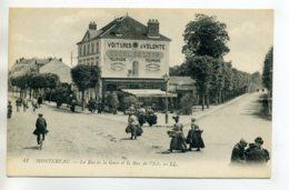 77 MONTEREAU Commerce HOTEL De LYON Carrefour Rue De La Gare Et Rue De L'Est    /D07-2017 - Montereau