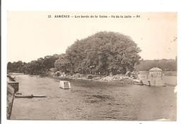 92 - ASNIERES - Les Bords De La Seine - Ile De La Jatte. - Asnieres Sur Seine