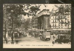 CP-Porte Et Boulevard St-Martin - Autres