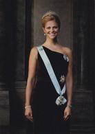 Princess Madeleine Of Sweden  ( Rood 1809 - Familles Royales