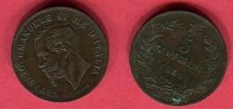 5 CENTESIMI    (KM  3.3)  TB+ 4 - 1861-1946 : Royaume