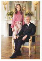 Queen Mathilde King Philippe  Elisabeth Eleanore Gabriel Emmanuel Belgium ( R 75 - Familles Royales