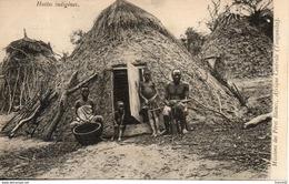 Tanganika. Huttes Indigènes - Tanzanie