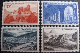 R1692/441 - 1949 - SERIE TOURISTIQUE - N°841A à 843 NEUFS** - Cote : 20,00 € - France