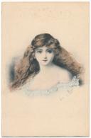 Louise Van PARYS - Visage De Femme - Other Illustrators