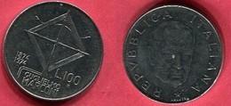 100 LIRI     (KM  102)  TB 2 - Commémoratives