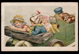SPELENDE KINDEREN IN AUTO - Enfants