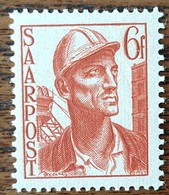 SARRE - YT N°238 - Mineur - 1948 - Neuf - 1947-56 Occupation Alliée