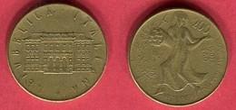 200 LIRE   (KM  209)  TB+ 2 - Commémoratives