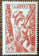 SARRE - YT N°242 - 1948 - Neuf - 1947-56 Protectorate