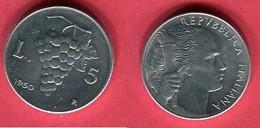 5 LIRE   (KM  89)  TTB+ 3 - 1946-… : République