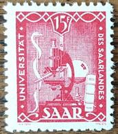 SARRE - YT N°252 - Université De Sarre - 1949 - Neuf - Neufs
