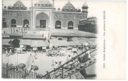 CPA INDES ANGLAISES - UN PALAIS A DELHI - Inde