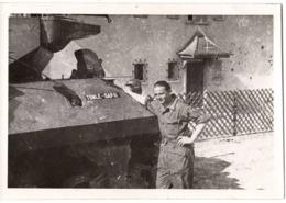 Char Militaire C.1944  Tank Tonle-sap-ii - Photo C.9x12cm - Automobiles