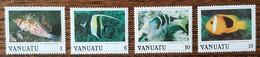 Vanuatu - YT N°769 à 772 - Faune / Poissons - 1987 - Neufs - Vanuatu (1980-...)