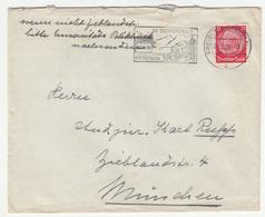Im Schwarzwald Mit Postauto Slogan Postmark On Letter Cover Travelled 1938 Freiburg B181215 - Alemania