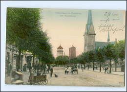 Y10939/ Bremerhaven Lehe  Hafenstraße AK 1906 - Allemagne