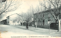 ¤¤  -   SALIN-de-GIRAUD   -  La Gendarmerie Et Avenue De La Gare  -    ¤¤ - France