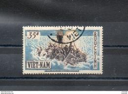 Vietnam Du Sud. Refugiés. Exode. Légende Barrée D'un Trait Noir - Viêt-Nam