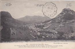 Cad 1913 Andelot à Morez Convoyeur Ambulant + Verso Cad Salins Et Morez Sur Cpa  Salins Les Bains - Poststempel (Briefe)