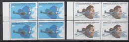 AAT 1979 50th Ann. First Flight Over Southpole 2v Bl Of 4  ** Mnh (41482F) - Australisch Antarctisch Territorium (AAT)