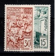 Maroc - YV 325 & 326 N** Oeuvres Sociales De L'armée - Morocco (1891-1956)