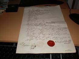 Deronja 1849 Prvi Pecat Srpske Vojvodine Najstariji Poznati The Oldest Known Seal Of Serbian Vojvodina Rare RRR - Documenti Storici
