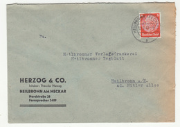 Herzog & Co. Heilbronn Company Letter Cover Travelled 1942 B181215 - Germania