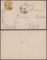 Colonies Francaises - Devant De Lettre Nouvelle-Calédonie 1883 T.P. Colonies Générales (5G23704) DC1132 - Nouvelle-Calédonie