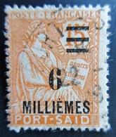 PORT SAÏD - N° 73  - TYPE MOUCHON OBLITERE USED - Port-Saïd (1899-1931)
