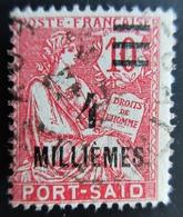 PORT SAÏD - N° 71  - TYPE MOUCHON OBLITERE USED - Port-Saïd (1899-1931)