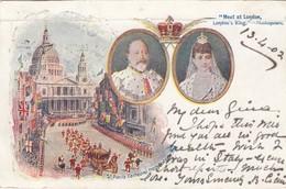 12221-EDWARD VII - CORONATION - 1902-FP - Royal Families