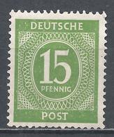 Germany 1946. Scott #541 (M) Numeral Of Value * - Deutschland