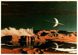 Conception Artistique De Saturne - Editions Galaxy Contact - Astronomie