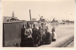 Péniche - Port - à Situer - Aak - Haven - Te Situeren - Photo Format 8 X 12 Cm - Boats