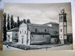 1963 - Ferrara - Argenta - S. Maria Codifiume - Parrocchia Di S. Maria - Chiesa - Ciclista - Cartolina D'epoca - Chiese E Conventi
