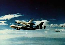 Columbia Sur Le Dos D'un Boeing 747 - Editions Galaxy Contact - Astronomie