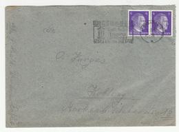 Wiesbaden Slogan Postmark On Letter Cover Travelled 1942 B181215 - Briefe U. Dokumente