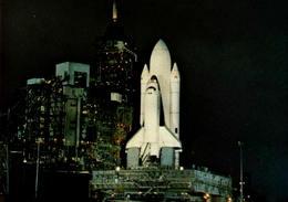 La Navette Columbia Sur Son Pad De Lancement à Cap Kennedy, 1981 - Editions Galaxy Contact - Astronomie