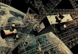 Centrale à énergie Solaire Construite Par La Navette Spatiale - Editions Galaxy Contact - Astronomie