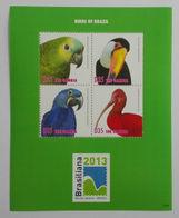 Gambia 2014**Mi.klb.6838/41 (Birds Of Brazil) [14;102] - W.W.F.
